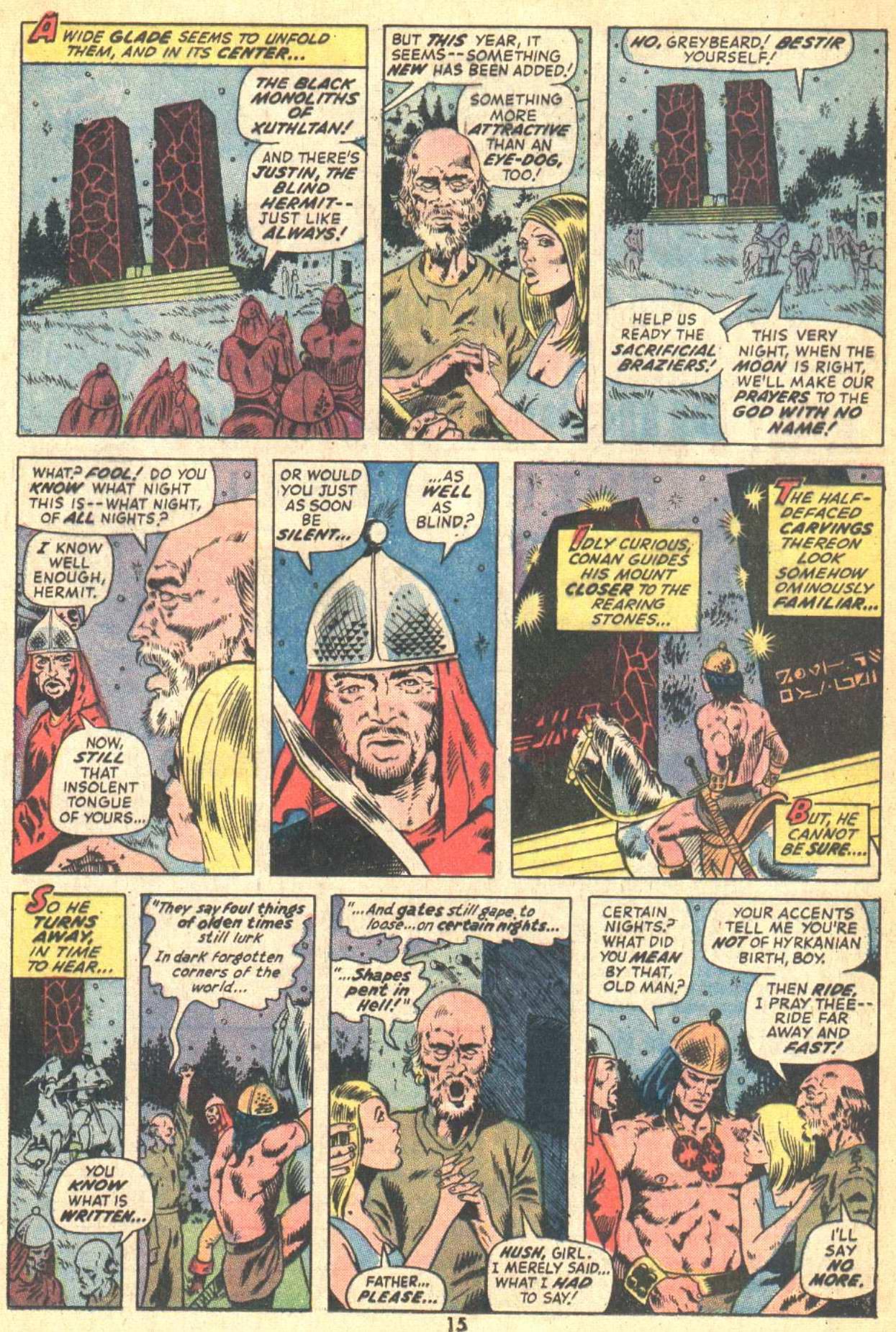 Conan the Barbarian (1970) Issue #21 #33 - English 12