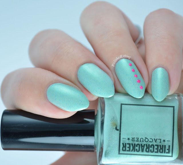 Firecracker Lacquer My Heato Mojito Colors By Llarowe Fast Girls