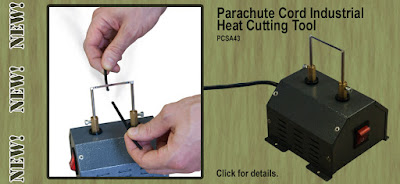 Paracord Heat Cutting Tool for production - ParachuteCordCraft.com