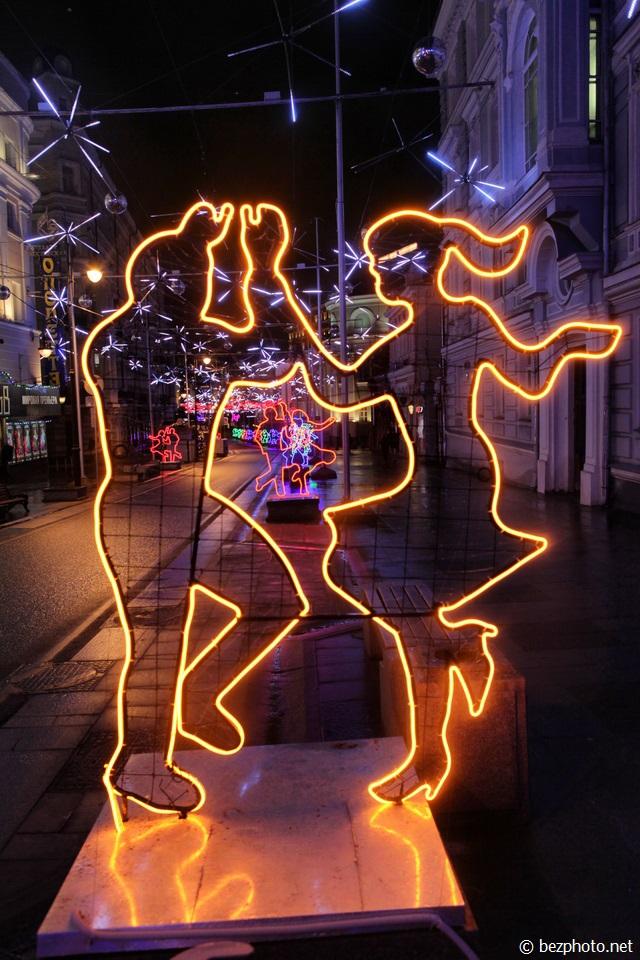 москва под новый год фото