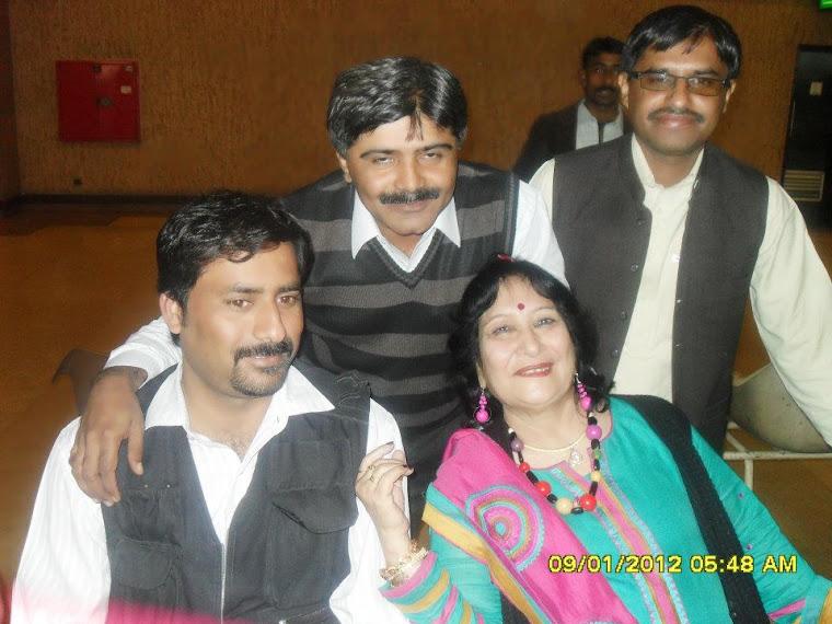 Indra Shabnam ,Zulfiqar Behan Aftab Mughari and Suleman Wassan