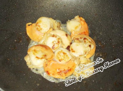 gryphon tea lemon myrtle scallops recipe