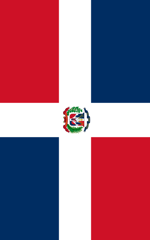 bandera de la Republica Dominicana para imprimir