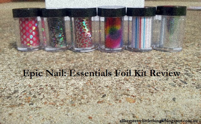 All Her Pretty Little Things: Epic Nail: Essentials Foil Kit