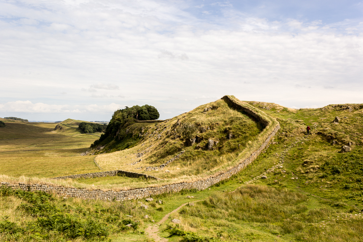 Hadrian's Wall at Housesteads Fort