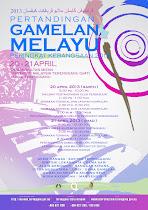 Pertandingan Gamelan Melayu Peringkat Kebangsaan 2013