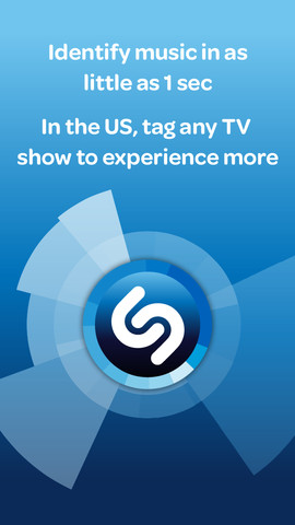 Shazam Music Entertainment iphone applications