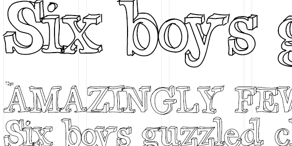 Cute Fonts To Draw By Hand