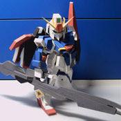 SD MSZ-006 Zeta Gundam Papercraf
