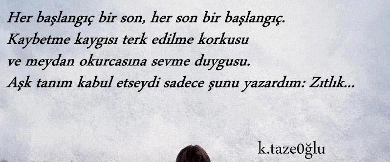 kahraman tazeoğlu aşk sözleri / facebook