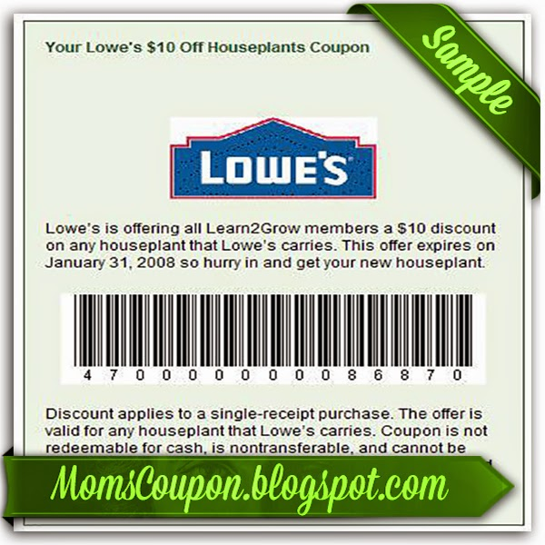 Great Deals Using Free Printable Lowes Coupons Free Printable