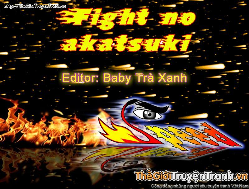 Fight no Akatsuki chap 65 Trang 1 - Mangak.info