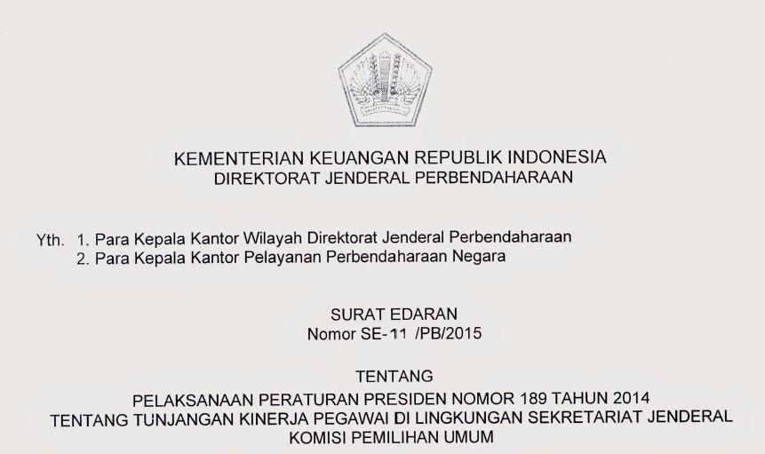 Tunjangan Kinerja KPU