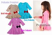Peplum Dress kanak-kanak