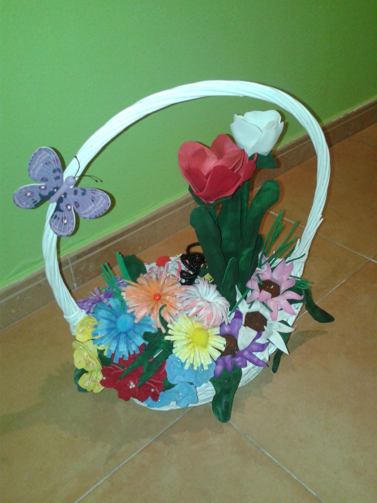 Con tus manos flores en goma eva - Flores con goma eva ...