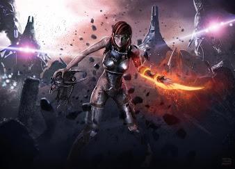 #16 Mass Effect Wallpaper