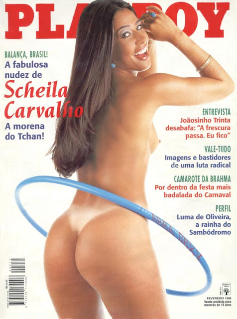 As Fotos Da Morena Do Otchan Scheila Carvalho Capa Playboy De