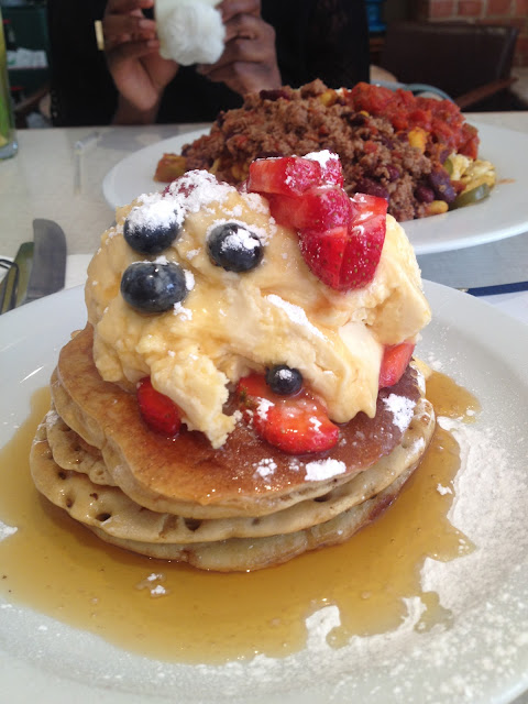 Breakfast Club Hoxton Pancakes