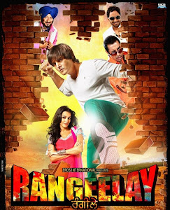 Poster Of Rangeelay (2013) Full Punjabi Movie Free Download Watch Online At worldfree4u.com