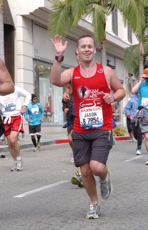 Rodeo Drive LA Marathon 2012