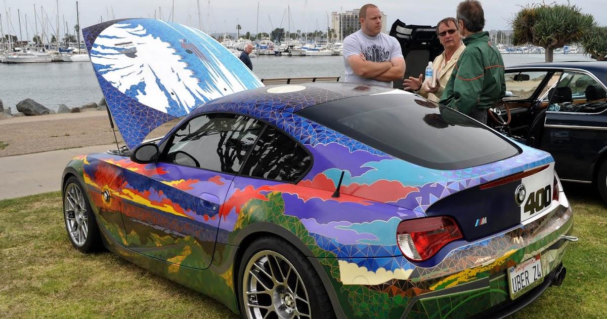 Just A Car Guy Earl S Bmw Z4 Artwork Spectacular Piece