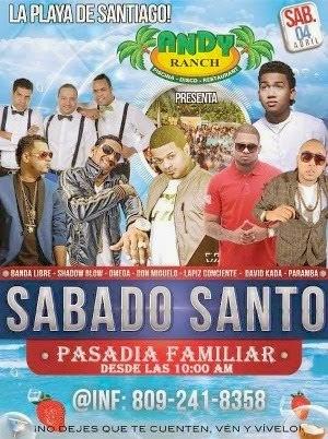 La única fiesta de Santiago el Sabado Santo