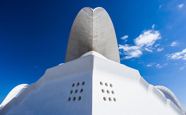 Kartki z podróży - Auditorio de Tenerife