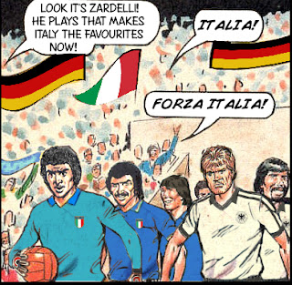 Italy vs West Germany World Cup Final 1982
