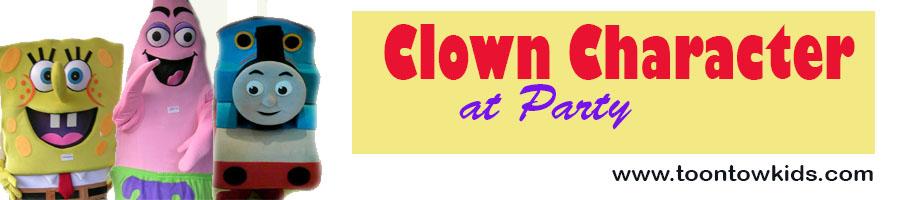 Clown ( Badut Character )