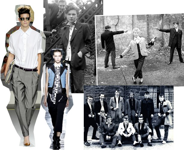 Edwardian Teddy Boy Suits Tailors In London: Simple Clad.: Ted