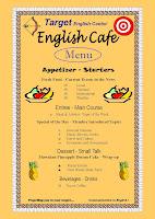 English Café  Menu...