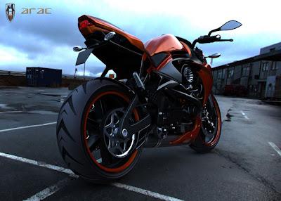 Konsep ARAC ZXS Motorcycle