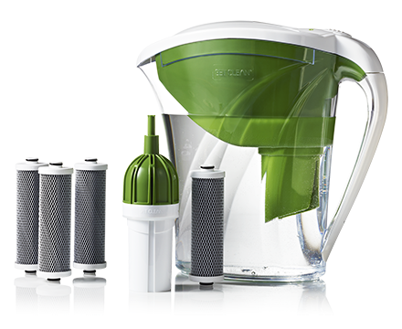 Penapis air get clean water pitcher