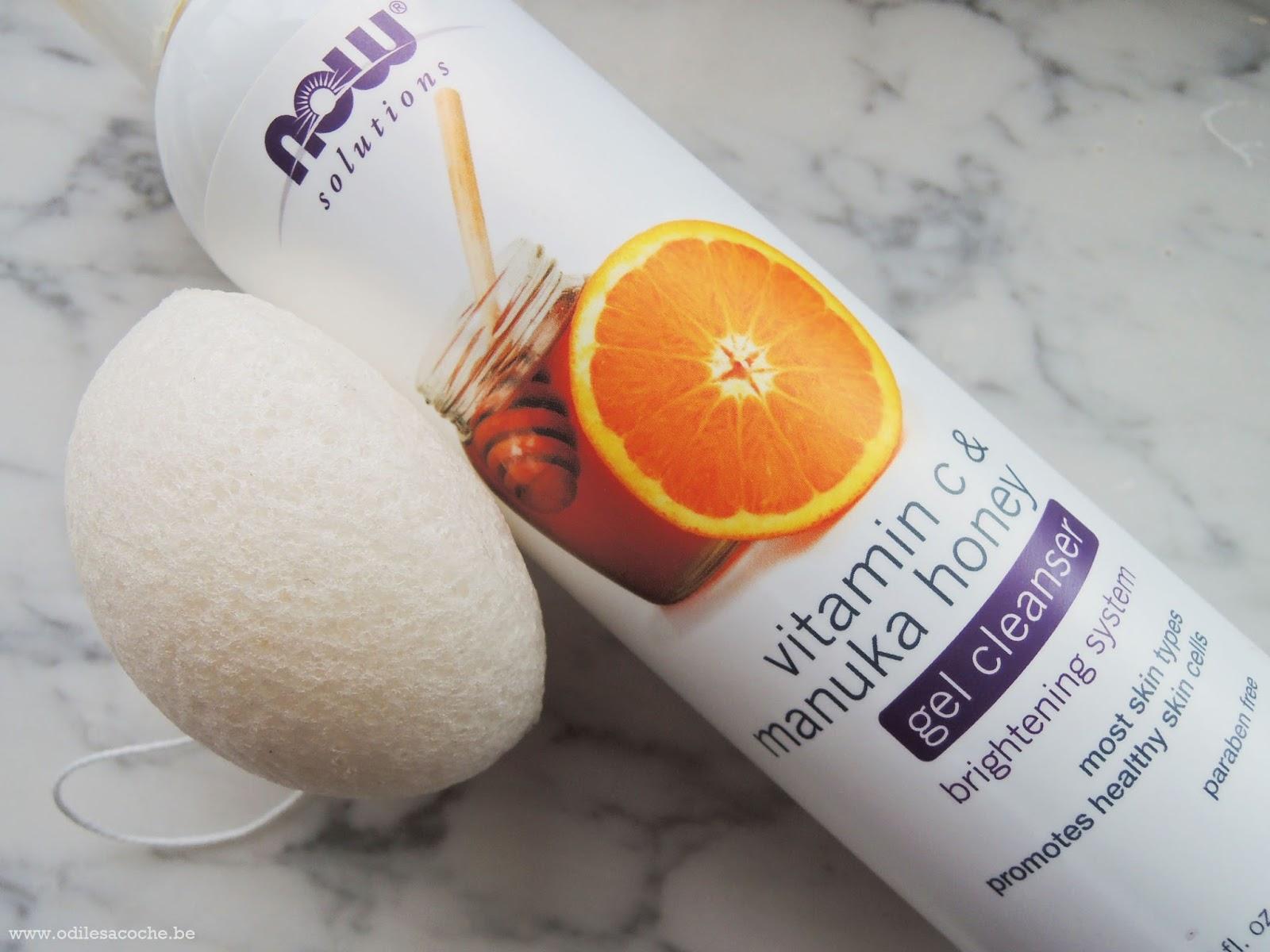 gel nettoyant anti acné iherb
