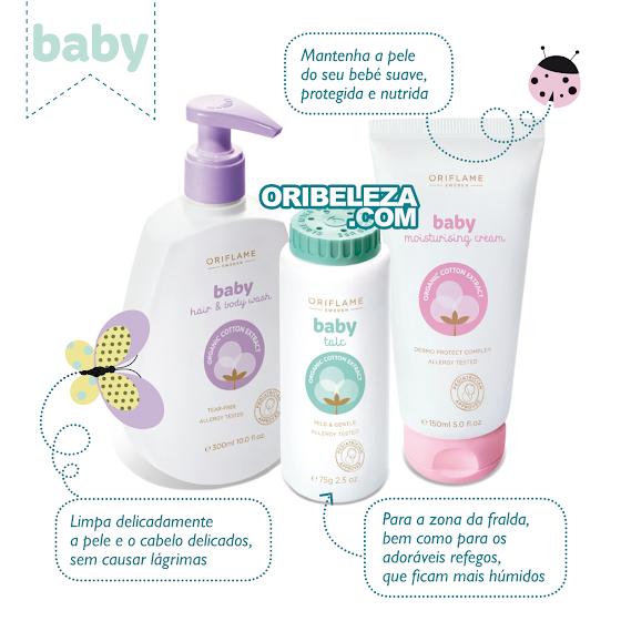 Cuidados para Bebé da Oriflame