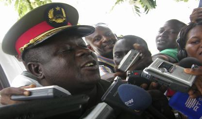Chefe das Forças Armadas chega ao Ministério da Defesa para reunião com o Governo