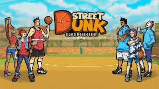 Screenshots of the Street Dunk 3 on 3 Basketball for Android tablet, phone.