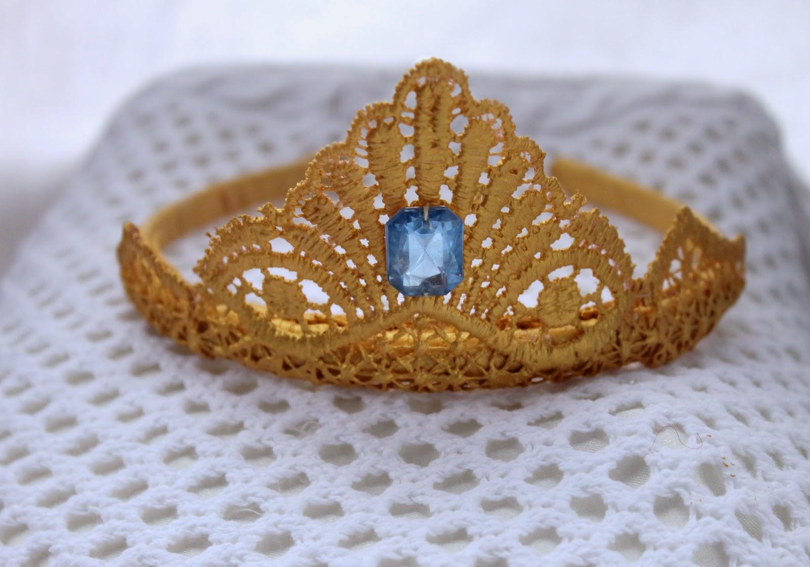 корона, Эльза, Холодное сердце, корона из кружева, корона для девочки на Новый год, новогодняя корона