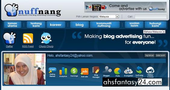 Ada Apa dengan blog Cik Epal?