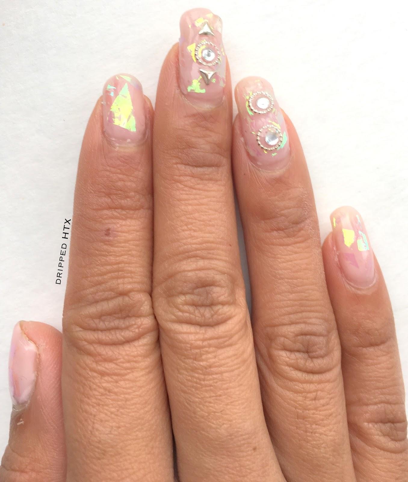 Manicure Monday: Glass Nails | Love, Mara