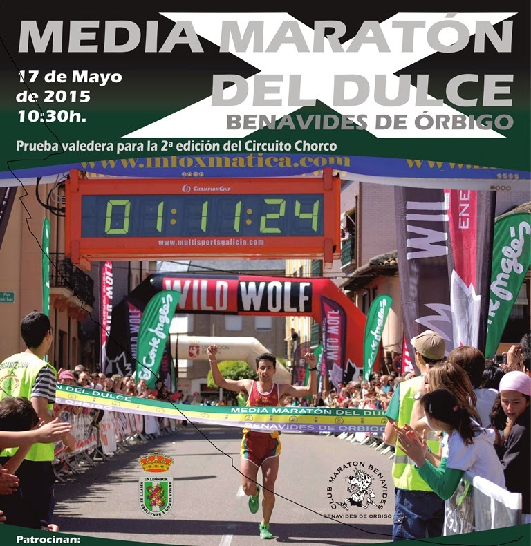 media maraton del dulce benavides