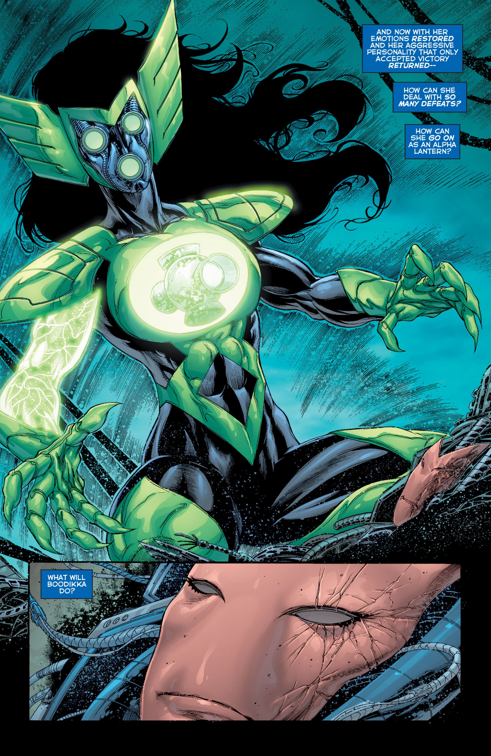 Read online Green Lantern Corps (2006) comic -  Issue #63 - 7