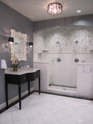 Westbury The Tile Shop Design By Kirsty - Carrara gris porcelain tile