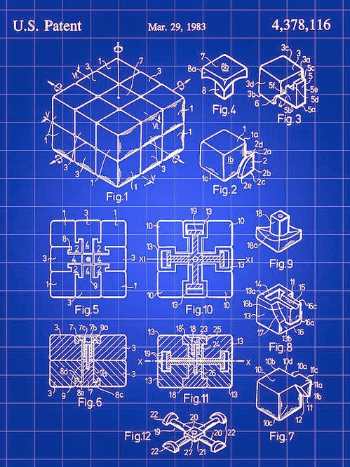 Patente rubik 3x3x2