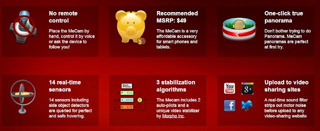 MeCam Features