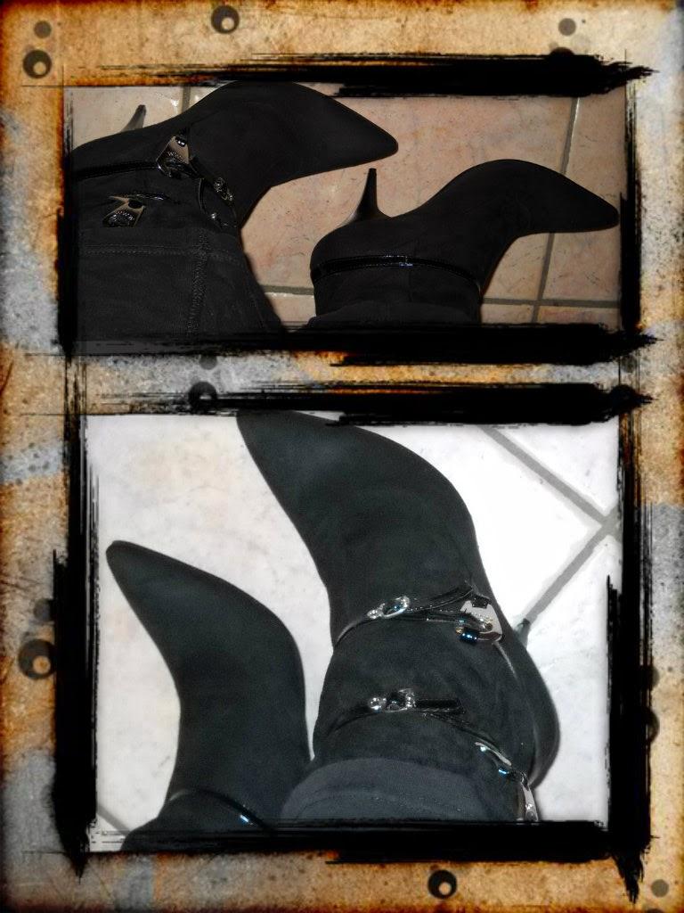stivaletto basso cinturini donna shoesy