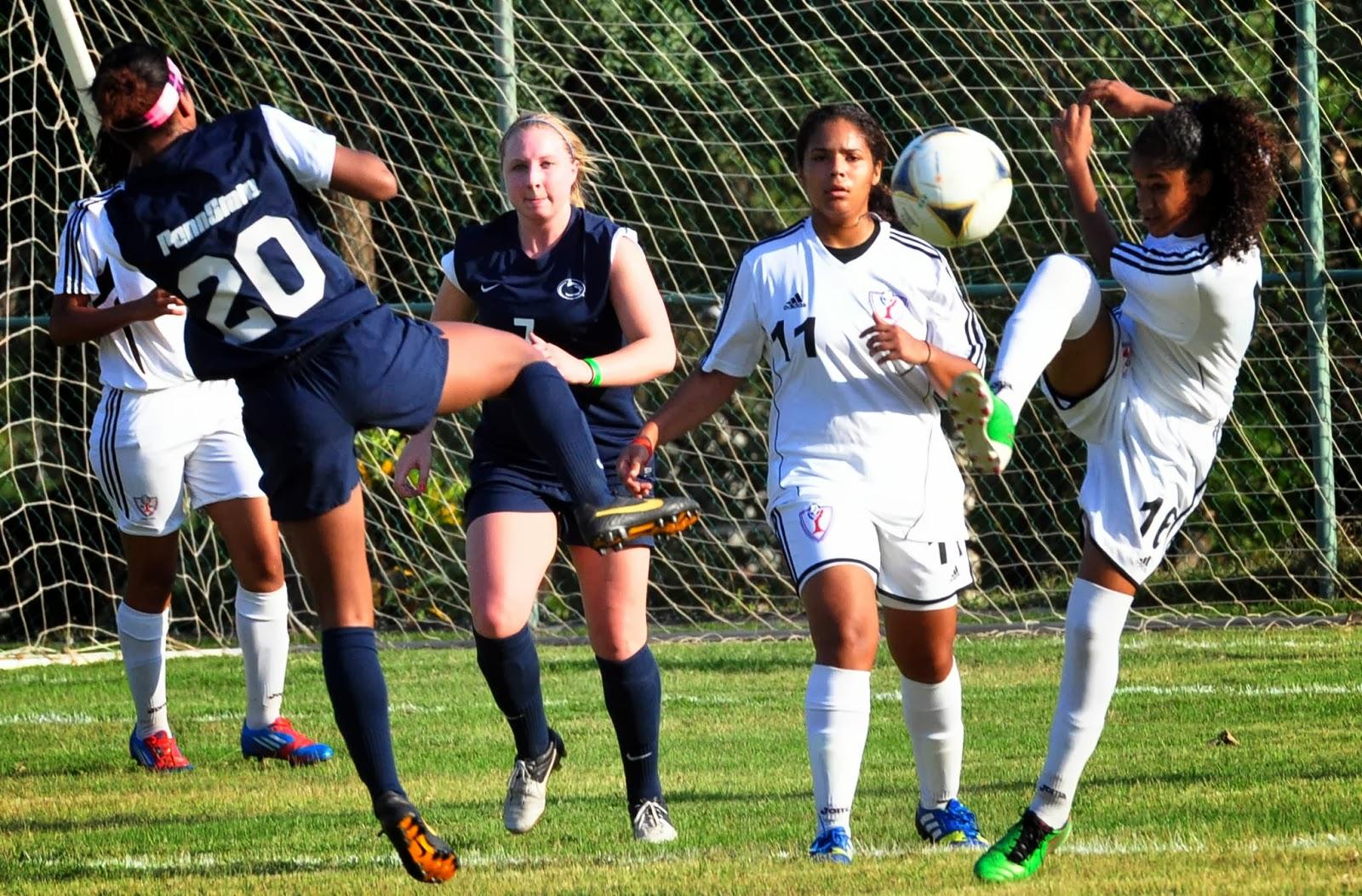Selección nacional femenina y Penn State juegarán el miércoles segundo partido amistoso