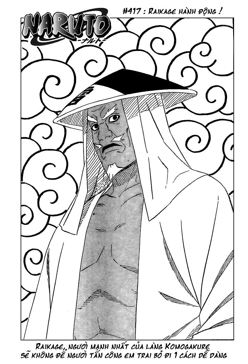 Naruto chap 417 Trang 2 - Mangak.info