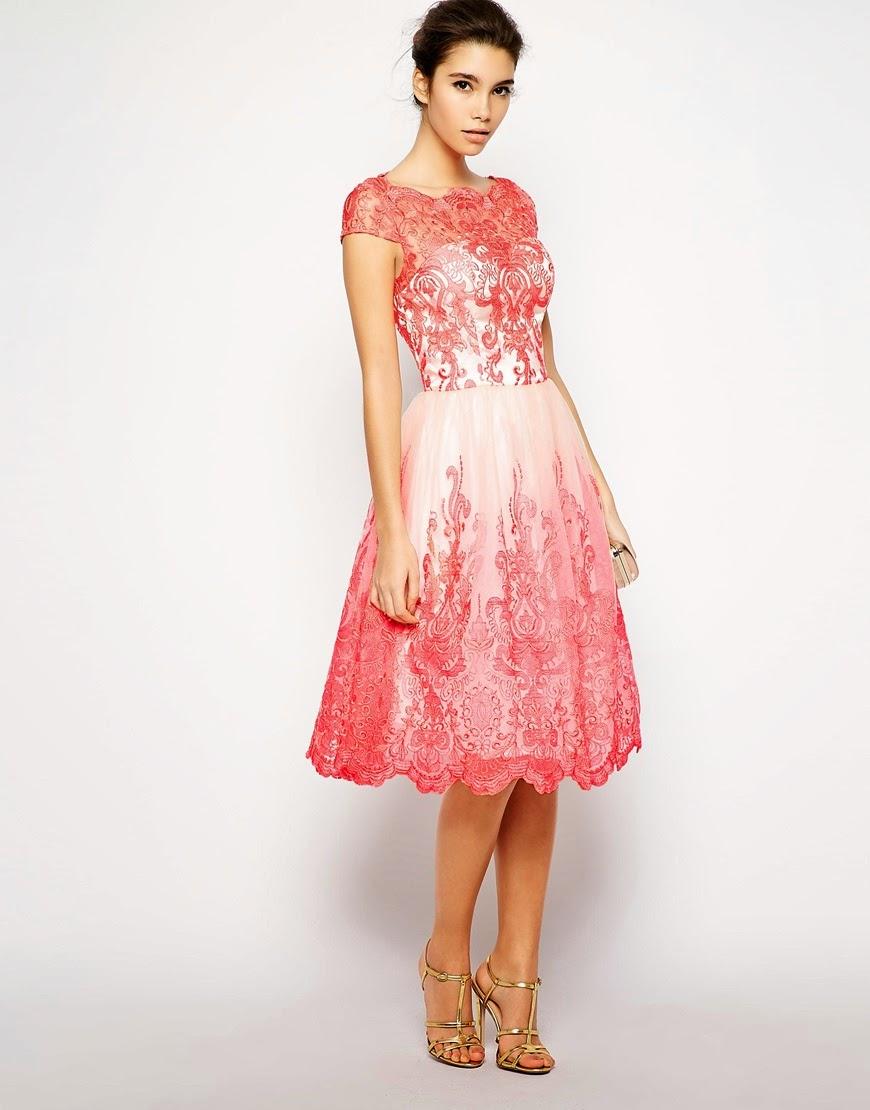 chi chi pink lace dress
