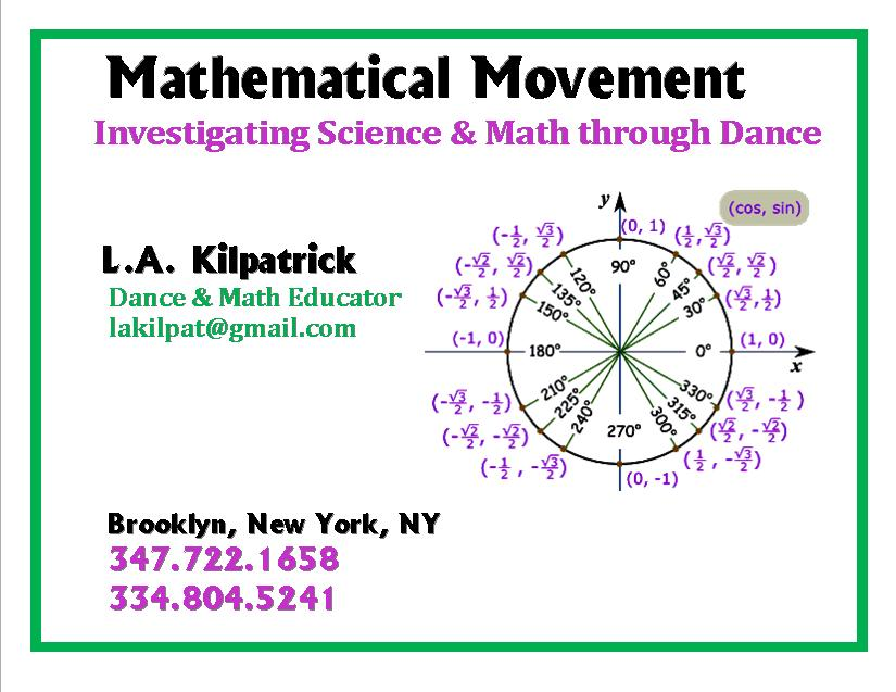 The Dancing Mathematician